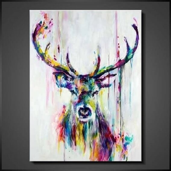moderna tavlor och oljemålningar