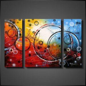 Abstrakt konst Circles