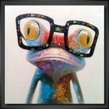 Modern Konst - Froggy