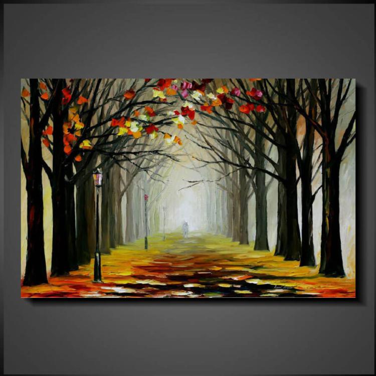 Tavlor Online Konst - Leafy Path
