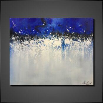 Modern tavlor - Blue day
