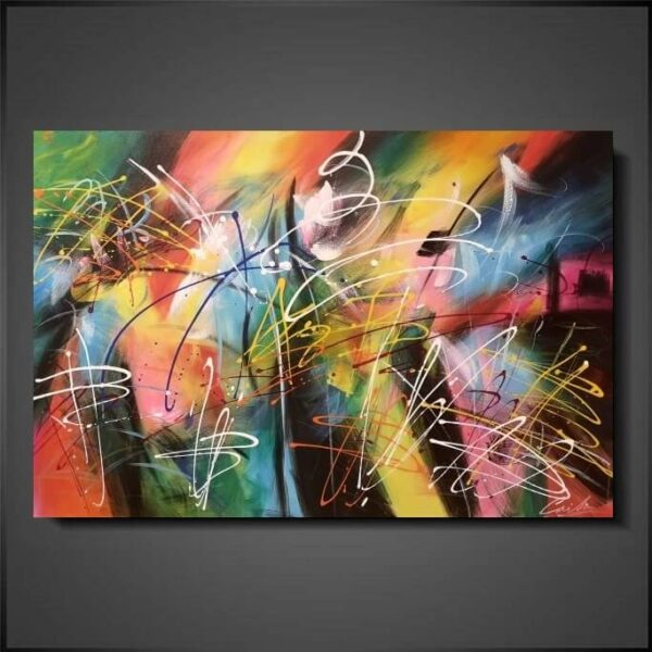abstrakt tavlor konst